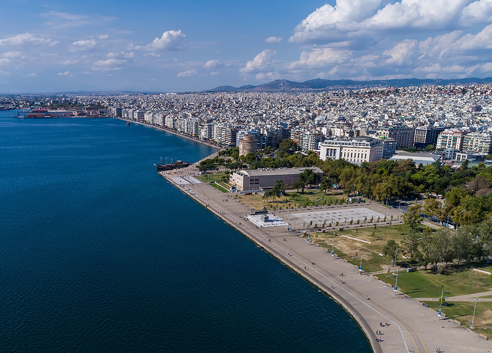 Thessaloniki, aerial photo